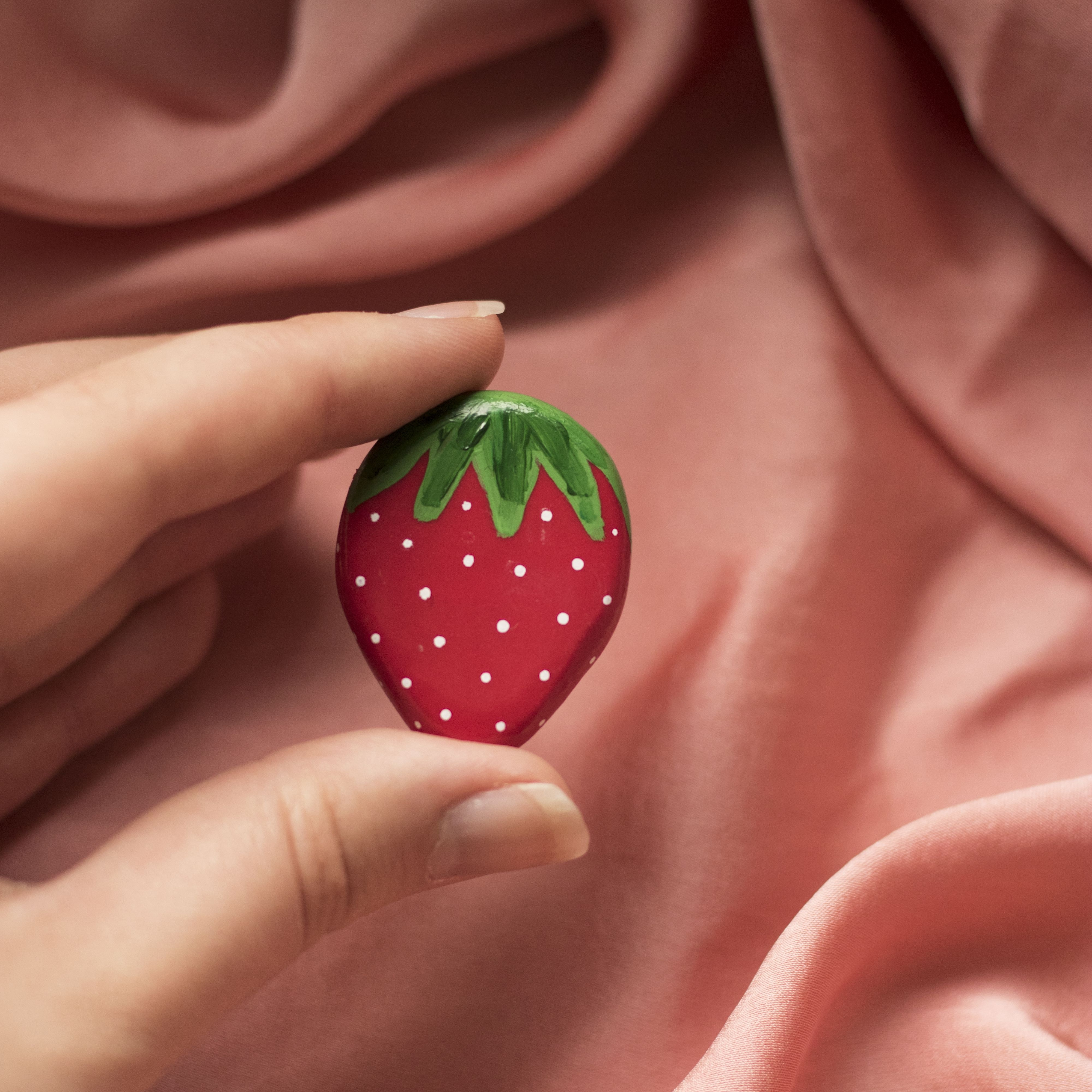 Strawberry Red Fruit Pin