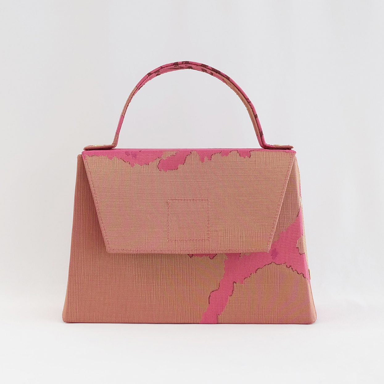 Ceesay Bag in Abstract Golden Pink