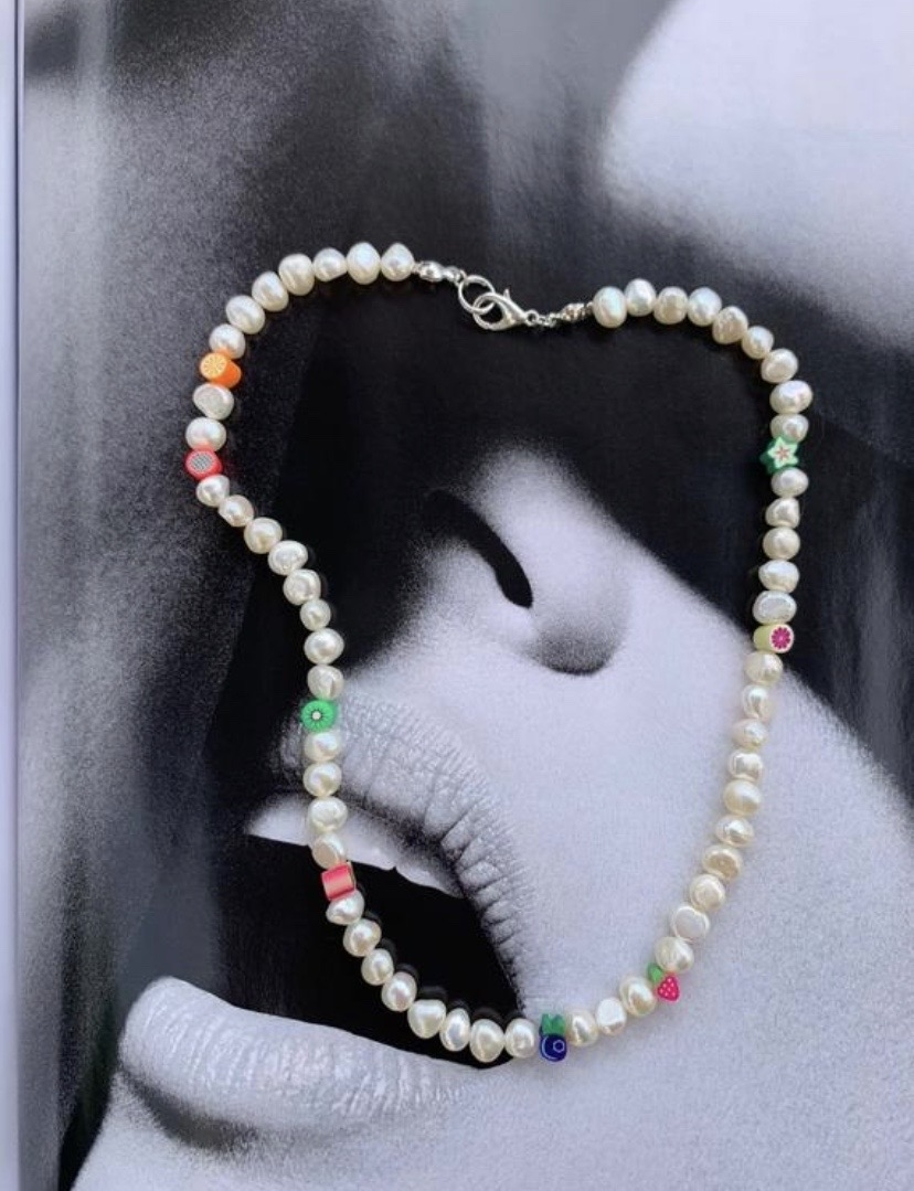 The Audrey pearl necklace