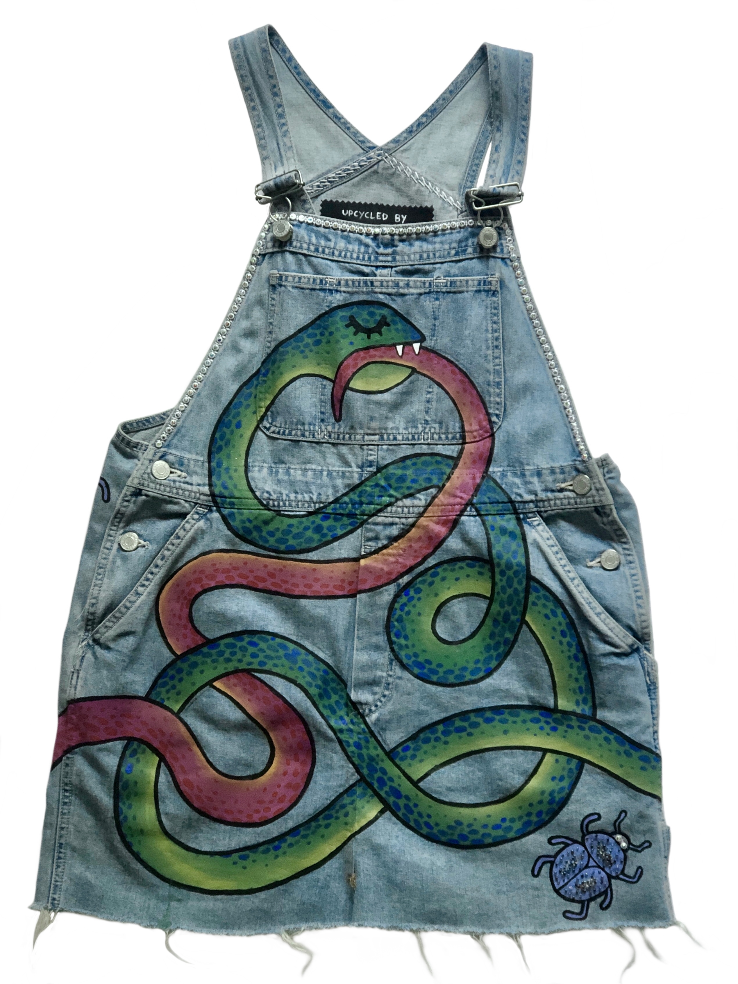 SNAKES dungarees