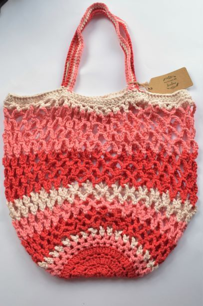 Chunky Crochet Market Bag- The Pop Up Girls Exclusive