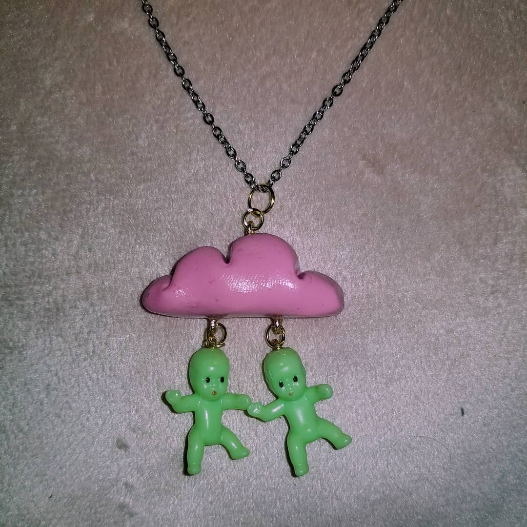 Cloud Baby Necklace