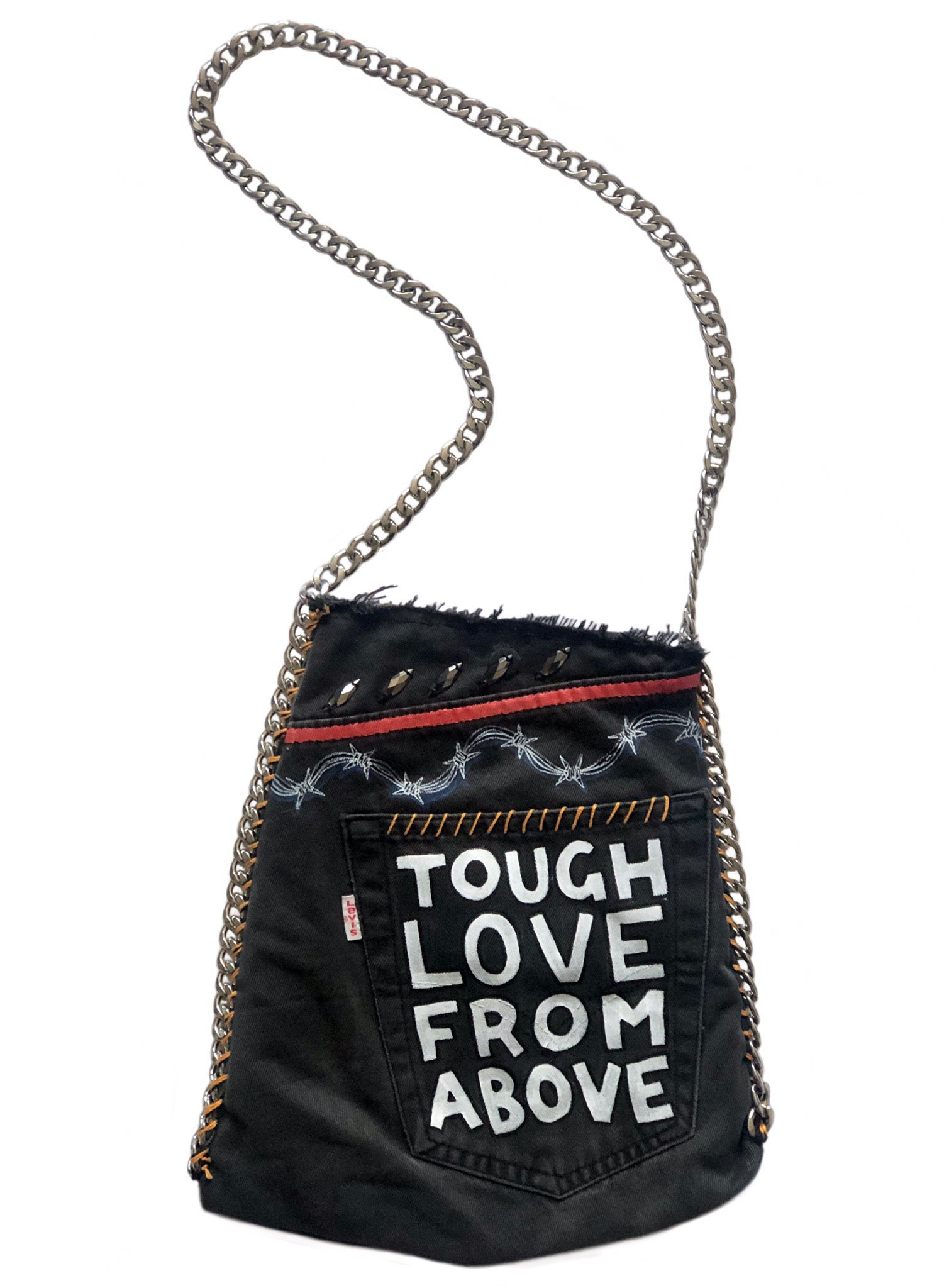 TOUGH LOVE Levi's Upcycled Bag