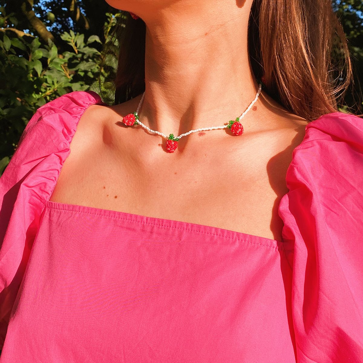 The Strawberry Feast Necklace
