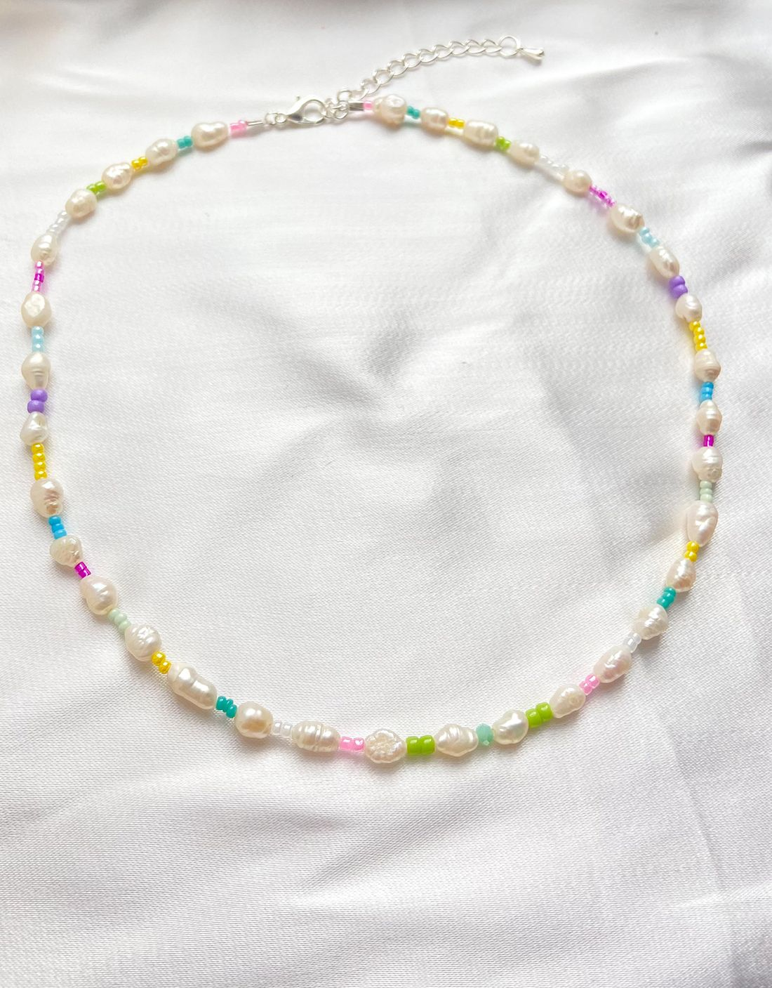 Daphne Fresh Water Pearl Multi Necklace