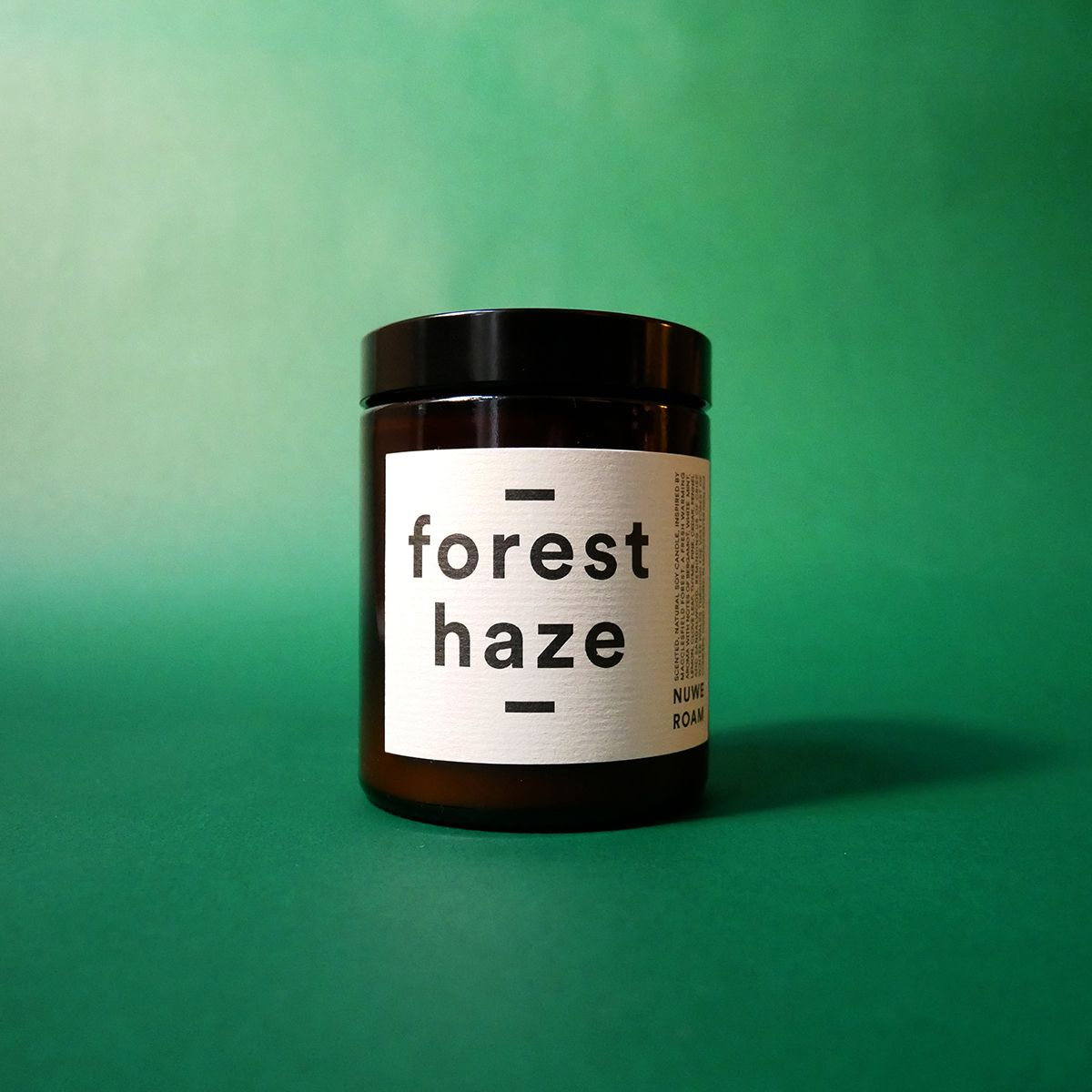 'FOREST HAZE' PINE & BERGAMOT SCENTED CANDLE
