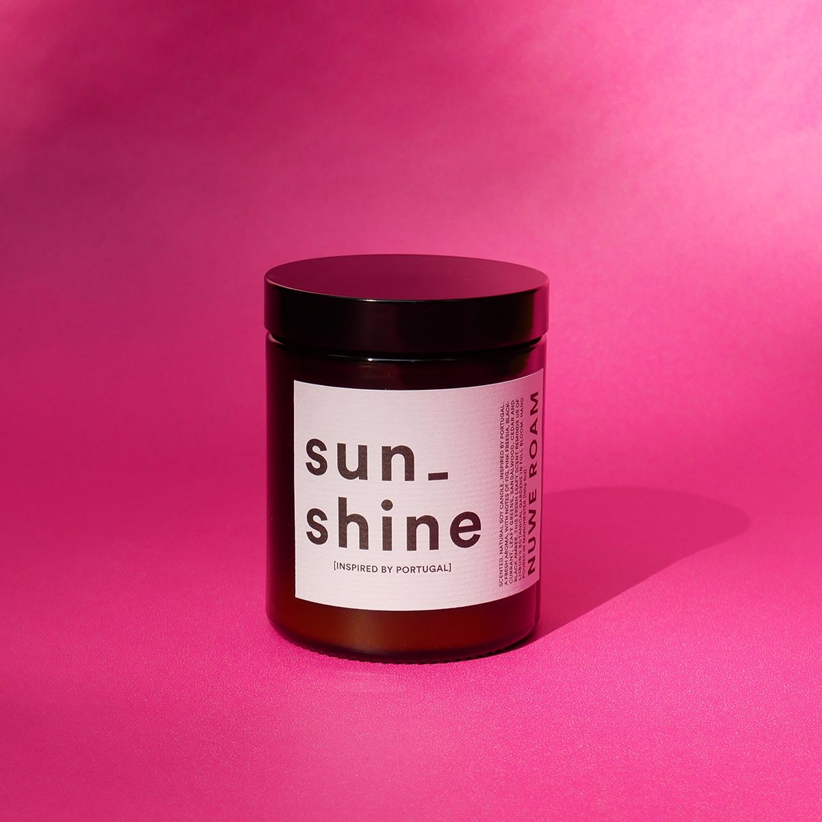 'SUNSHINE' FIG SCENTED CANDLE