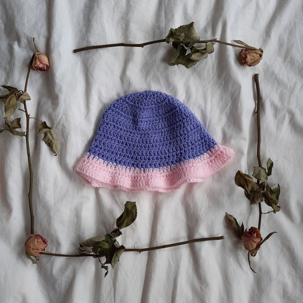 Purple and Pink Bucket Hat