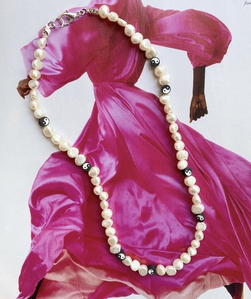 The Harmony pearl necklace
