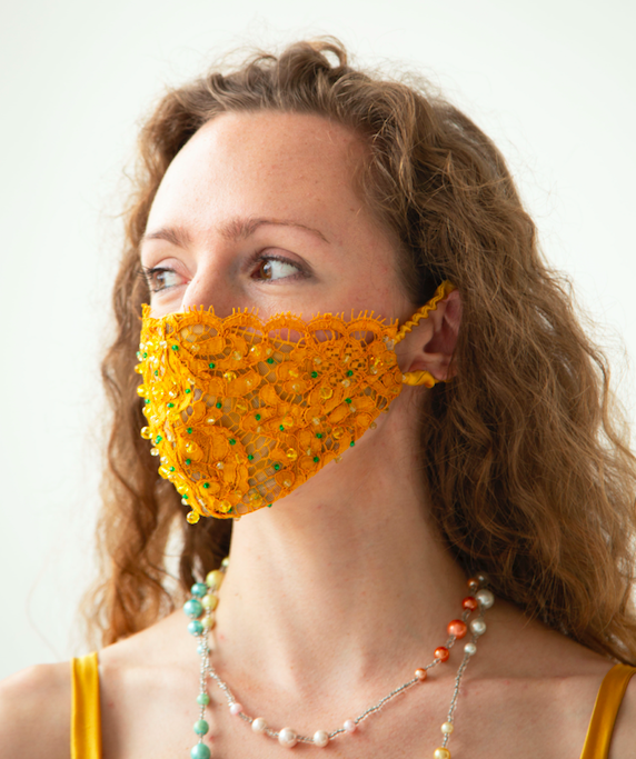 The Marigold Face Covering