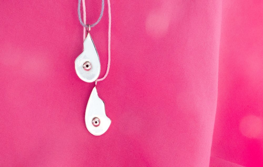 Breast Friend necklace charm