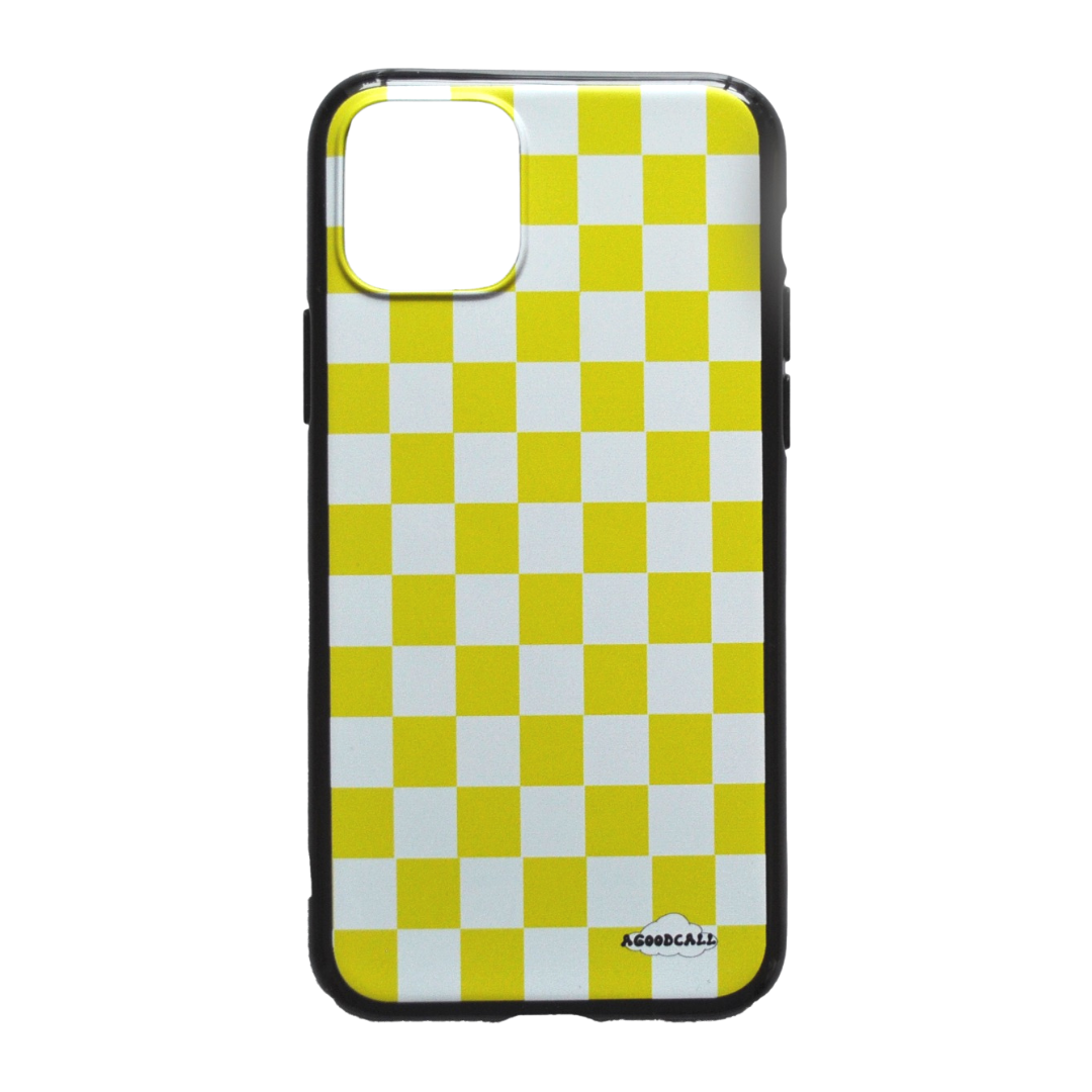 The Yellow Checky - iPhone case