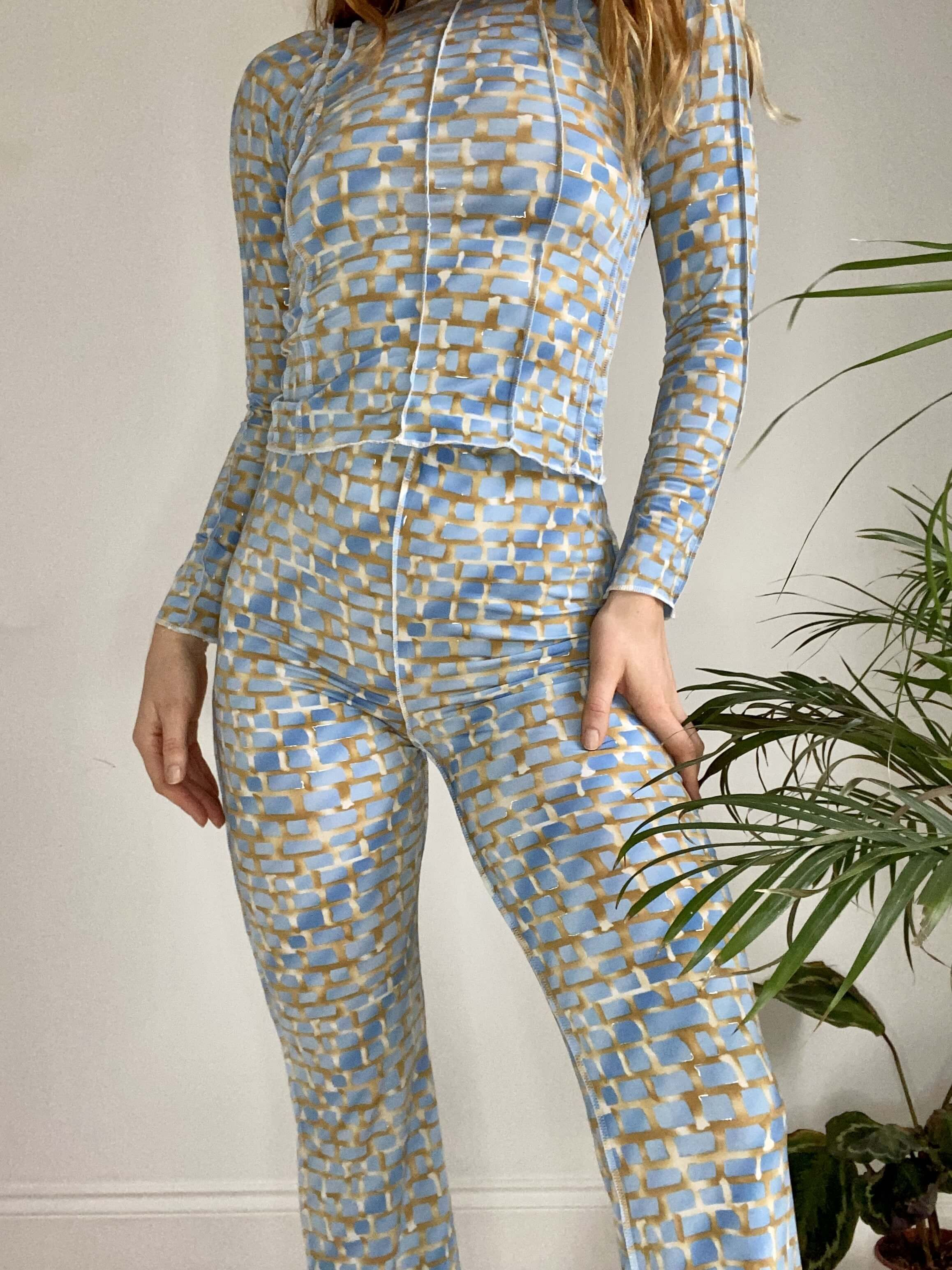Slinky Blue Co-ord - LIMITED QUANTITY