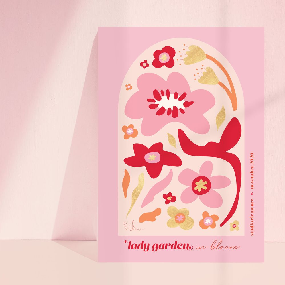 Lady Garden in Bloom ★ | Pink + Red