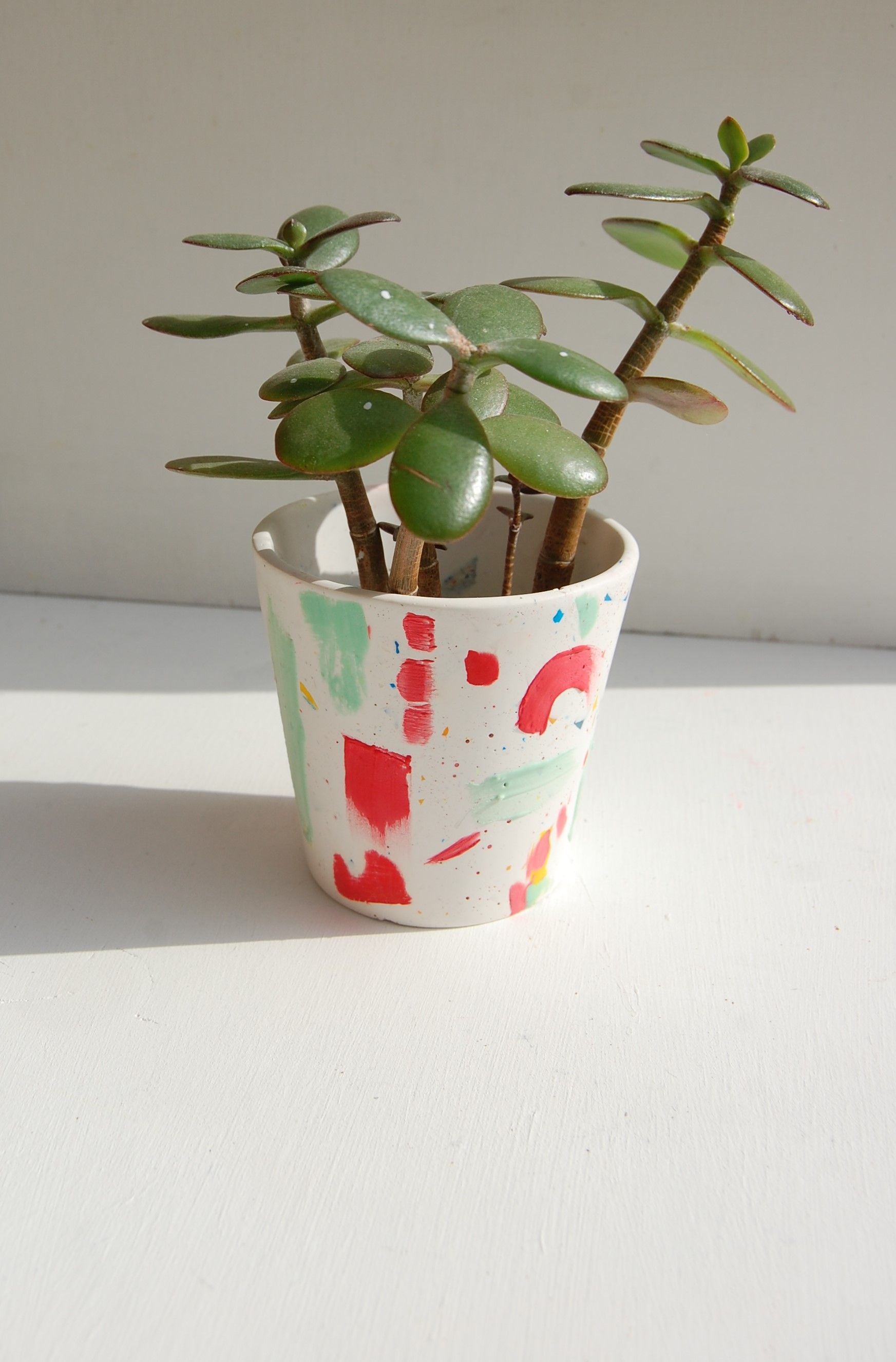 'Abstract Texture' Plant pot