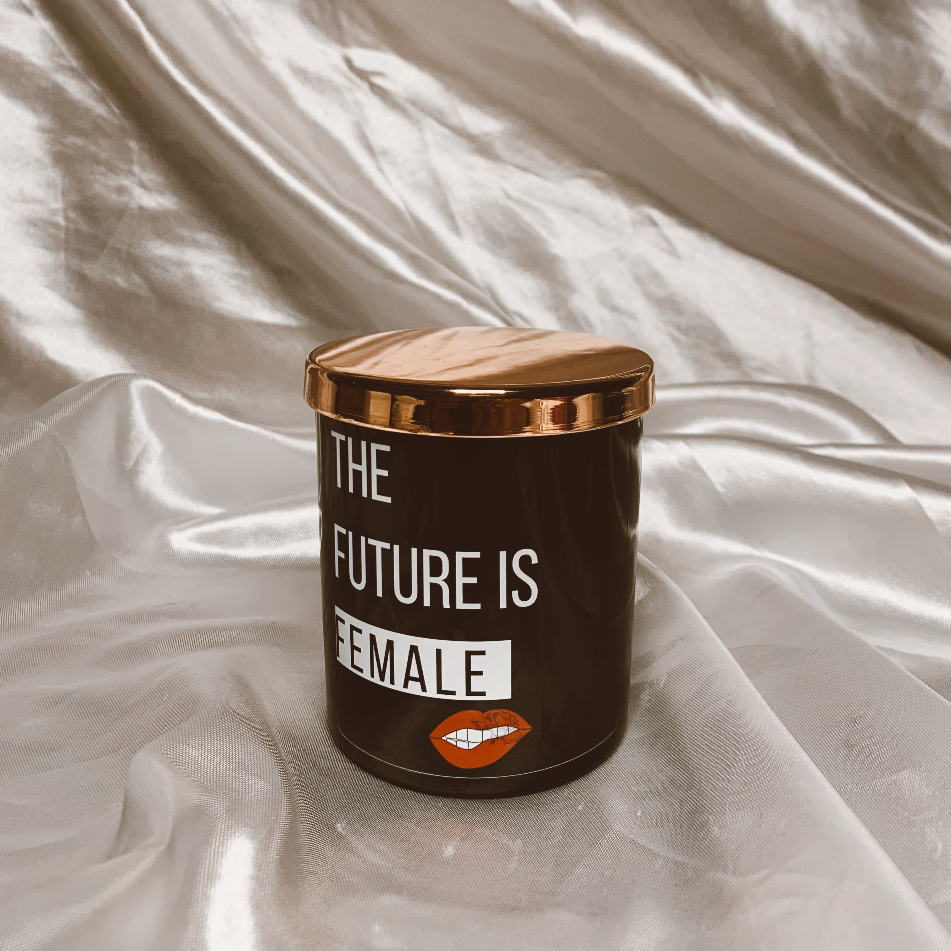 THE FUTURE IS FEMALE SCENTED CANDLE - 200g