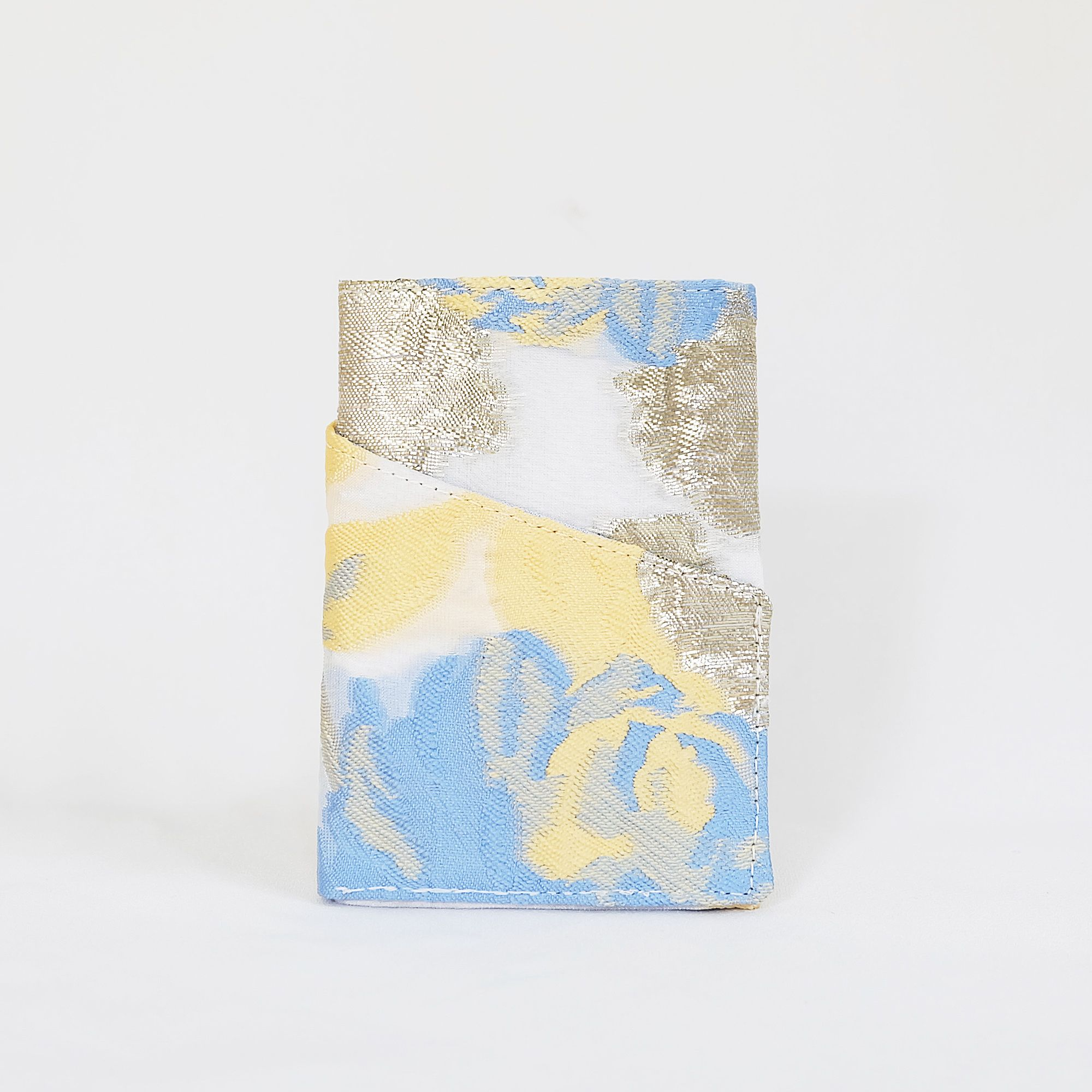 Hirsi Cardholder in Blue & Yellow