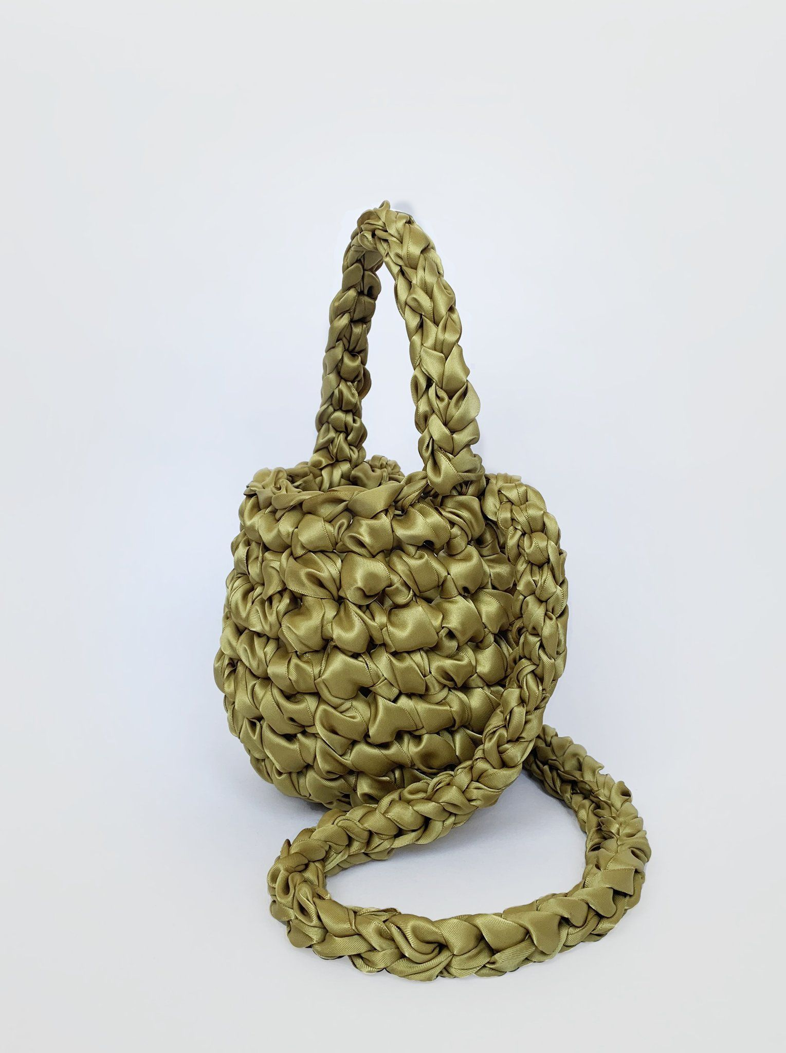 Crossbody Small Hive - Golden Olive