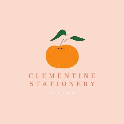 Clementine Stationery